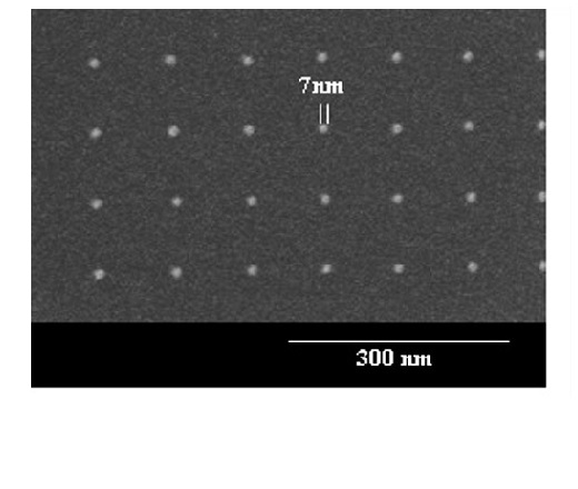 NIL mold - 7 nm features